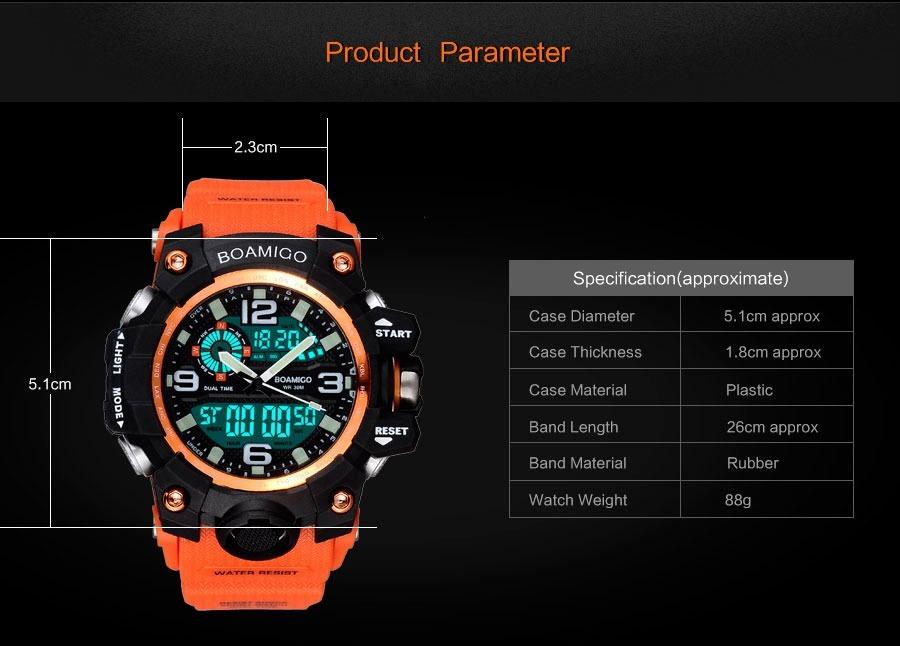 7ec24c2ac2d relógio militar digital e analogico masculino esportivo. Carregando zoom.