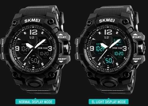 d00ec2a30bb Relógio Militar Esportivo A Prova De Água Skmei 50m Original - R  64 ...