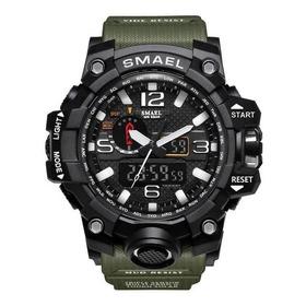 Relógio Militar Exército Smael  Esportivo Prova D'água