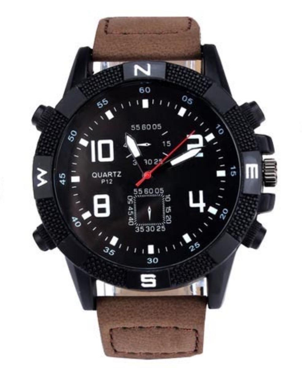 c816d58de57 relógio militar marrom army masculino soki promoção. Carregando zoom.
