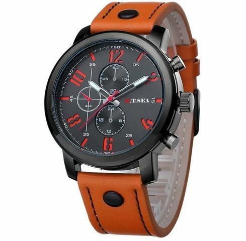1117d2d445e Relógio Militar Orange Army Masculino Moderno Promoção Soki - R  53 ...