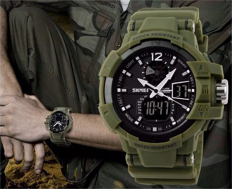 978c0d0b480 Relógio Militar Skmei S-shock Masculino Digital Prova D água - R  79 ...