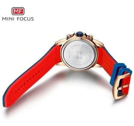 relógio minifocus modelo mf0244g grátis caixa original