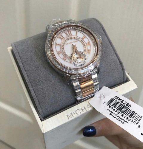 relógio mk 6288 misto original com garantia + frete