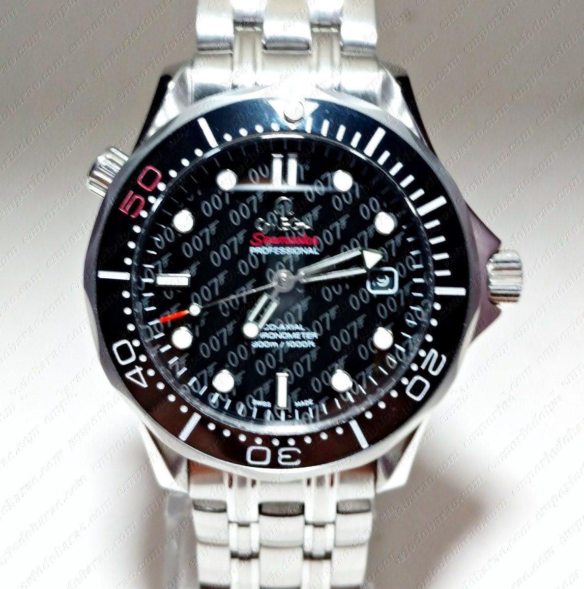 265302b16d4 relógio mod. seamaster 007 omega 50th llimited edition. Carregando zoom.