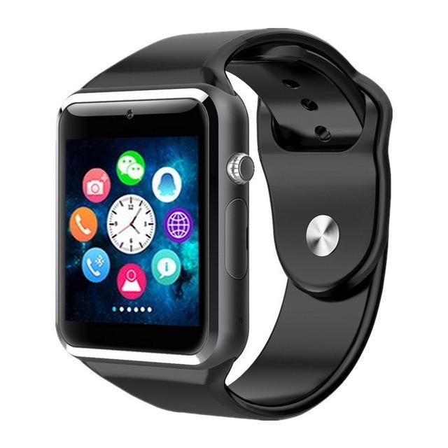 7b42727ab Relogio Moda Digital Quadrado Toque Na Tela Smartwhatch Andr - R$ 120,00 em  Mercado Livre