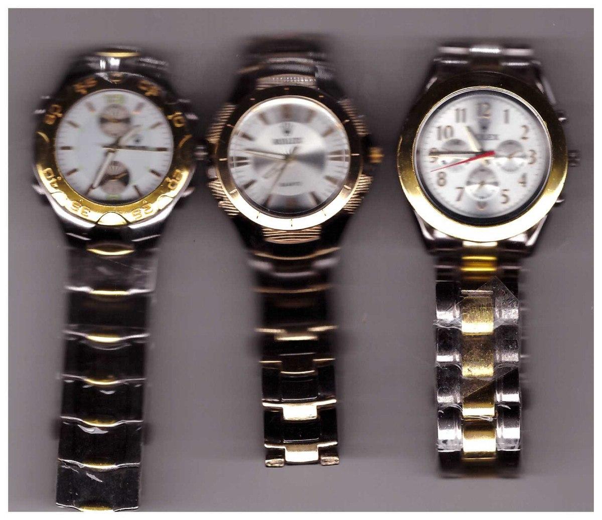 4118a1d4113 relógio modelo rolex quartz. Carregando zoom.