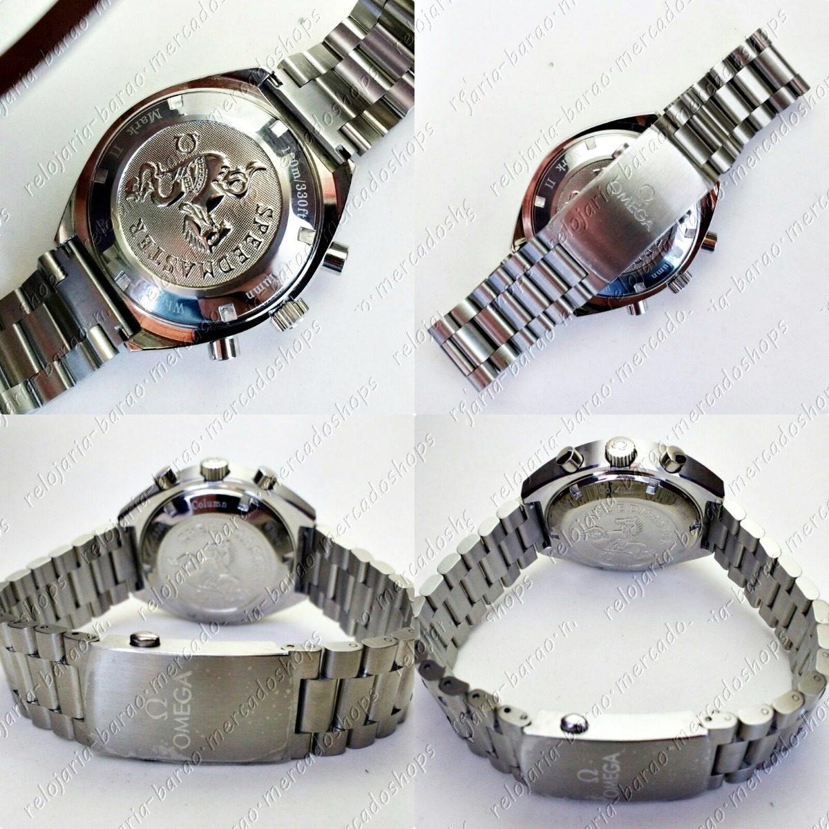 0d0fecbcf51 relógio modelo speedmaster omega mark i i 70 s vintage. Carregando zoom.