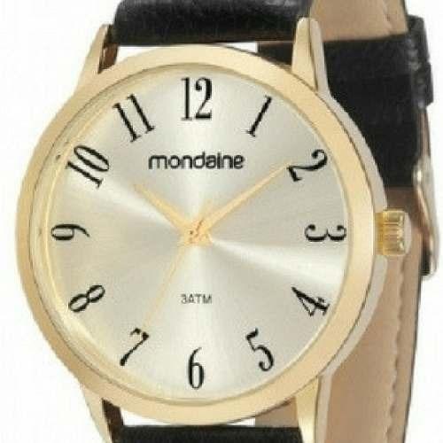 3513eb8ce71 Relógio Mondaine 83286gpmvdh2-l1 2 Couro Preto Original - R  149