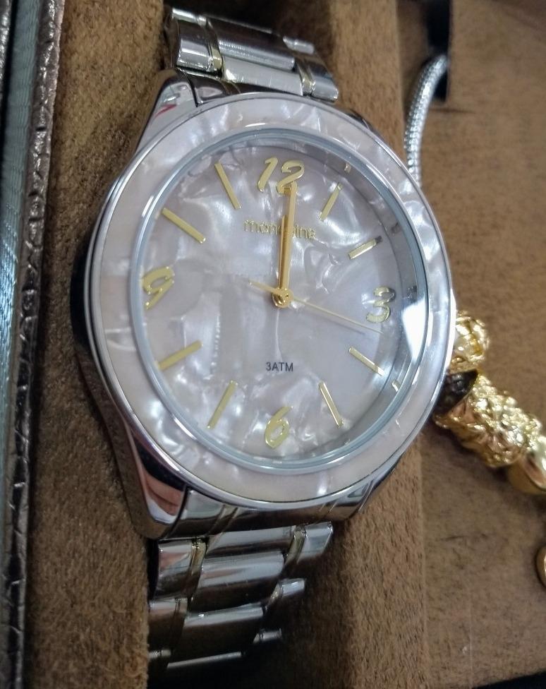 928e170eeef Kit Relógio Mondaine Fem C  Pulseira Estilo Pandora - Loja - R  275 ...