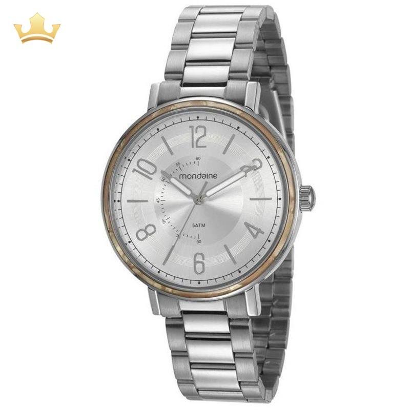 d38961736c0 Relógio Mondaine Feminino 53677l0mvne4 Com Nf - R  168