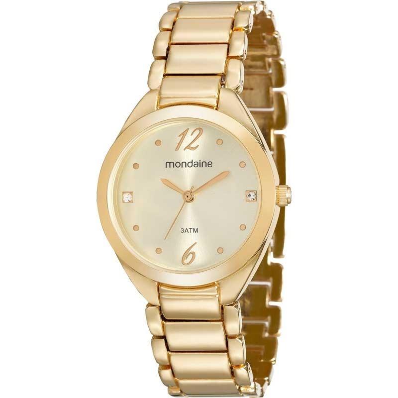 55ec7fb5ffb Relógio Mondaine Feminino Classico 53566lpmvde1 - R  159
