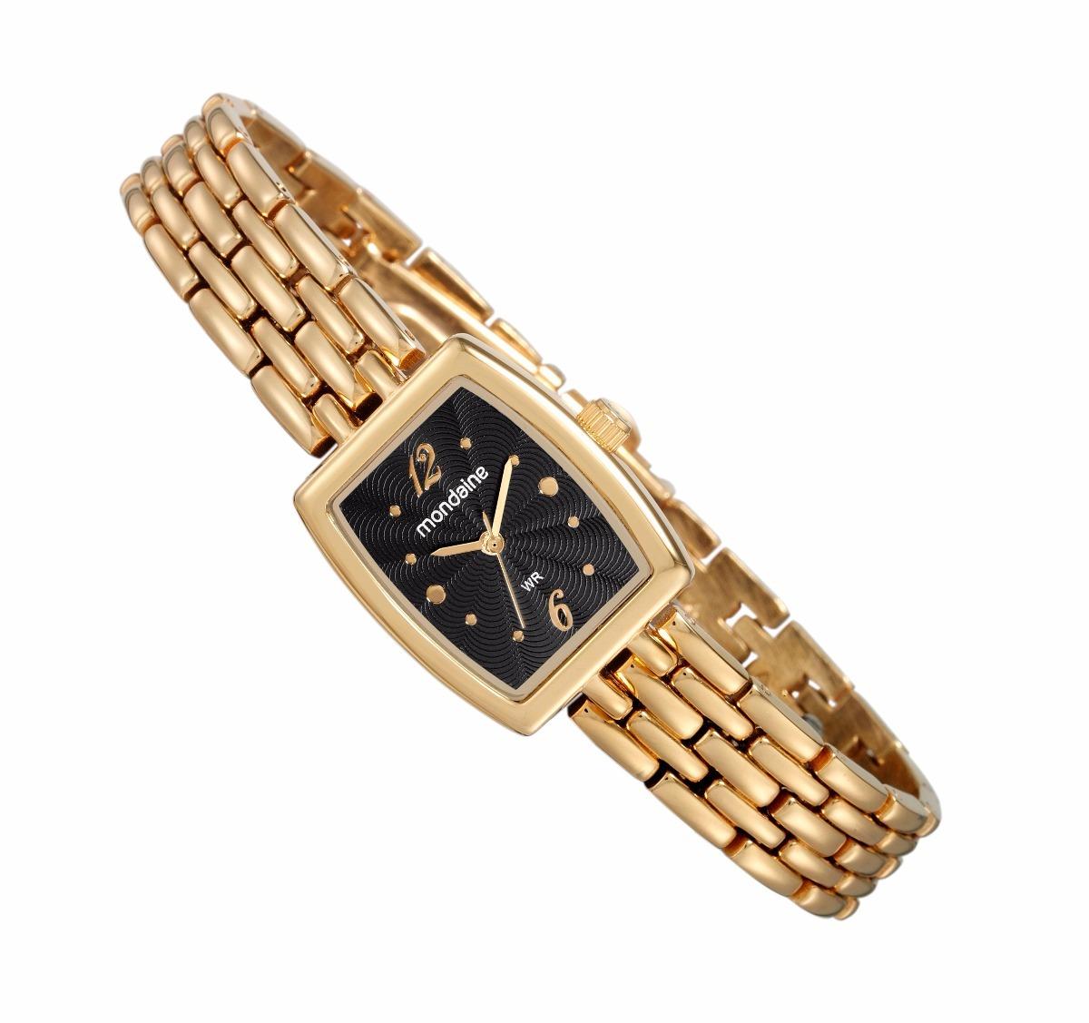 186f85407e3 relógio mondaine feminino clássico dourado 53543lpmvde1. Carregando zoom.