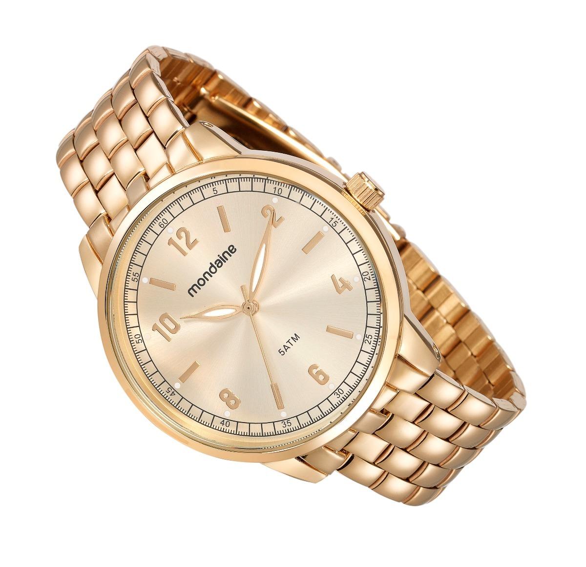 59922845d8e relógio mondaine feminino clássico dourado 76619lpmvde2. Carregando zoom.