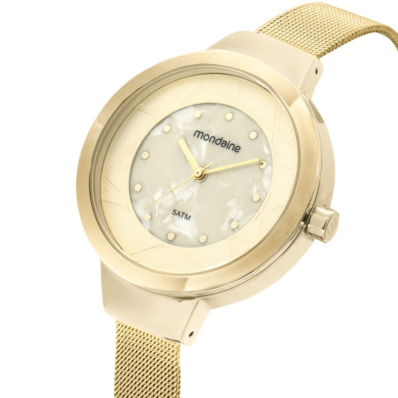 61428675c80 relógio mondaine feminino metal dourado luxo 99052lpmvde2. Carregando zoom.