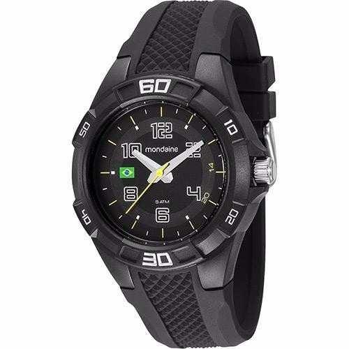 f89567c702f Relógio Mondaine Kit Troca Pulseira Brasil 69212g0mvnv1 - R  49