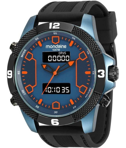 relógio mondaine masculino 99103gpmvtu2