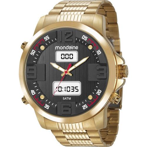 relógio mondaine masculino 99355gpmvds2