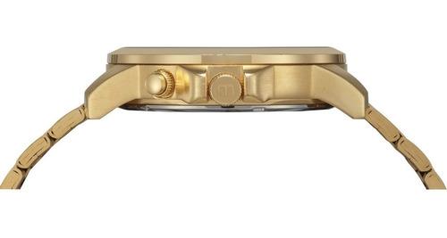 relógio mondaine masculino 99355gpmvds2 anadigi dourado
