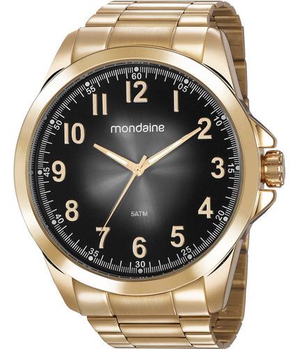 relógio mondaine masculino analógico original com garantia