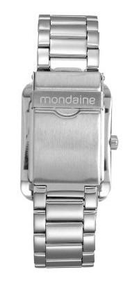 relógio mondaine masculino analógico prata 78623g0mvna1