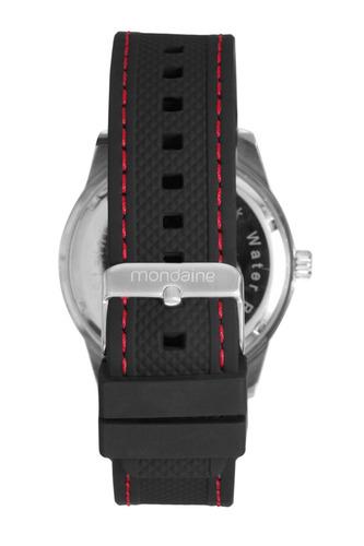 relógio mondaine masculino analógico silicone 99046g0mvni1