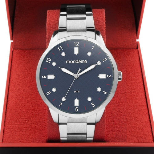 relógio mondaine masculino barato original com garantia nfe