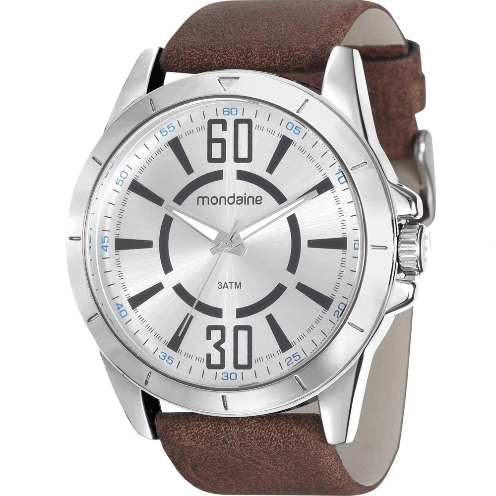 relógio mondaine masculino barato prata casual 76669g0mvnh2. Carregando  zoom. 93838f9b5c