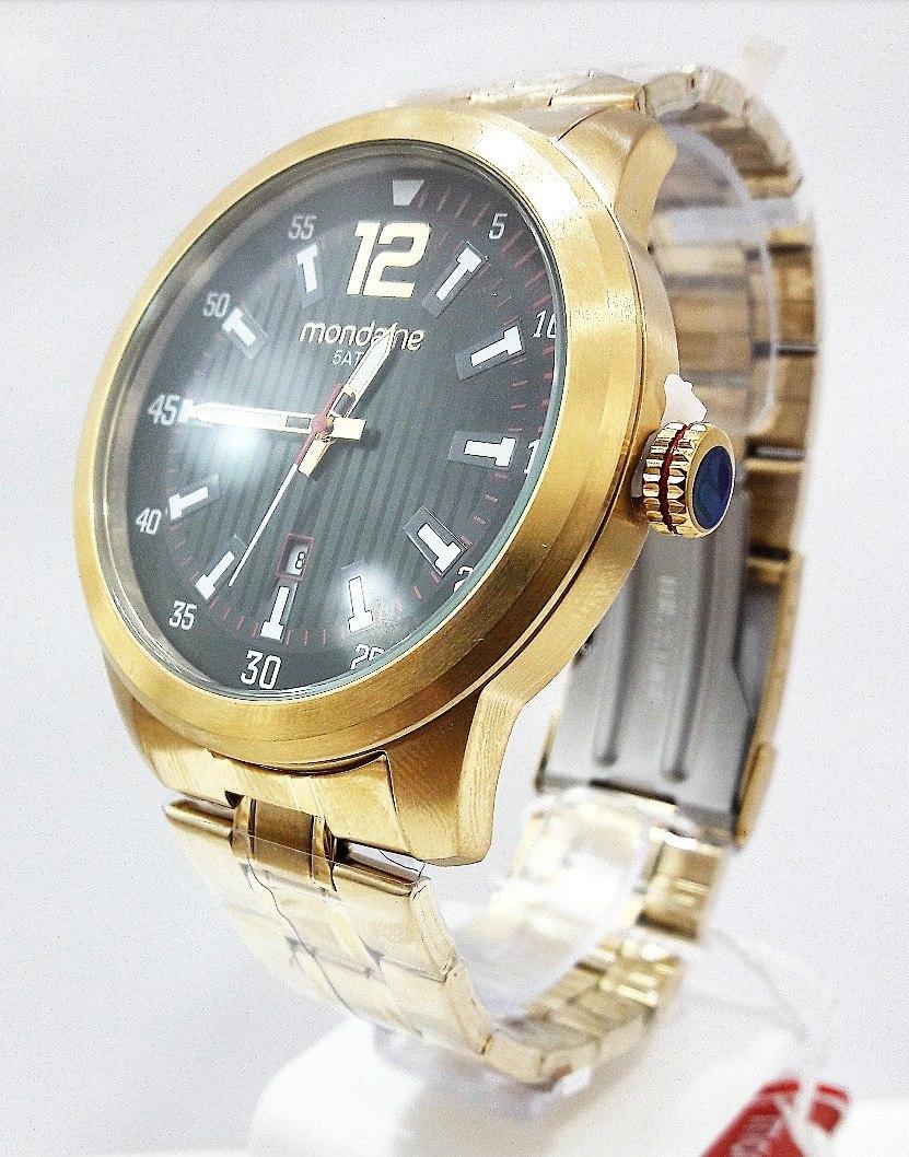a243390fd0a relógio mondaine masculino dourado 99202gpmvda1. Carregando zoom.