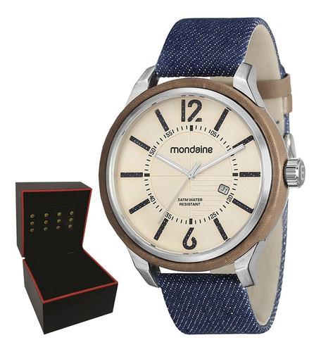 relógio mondaine masculino original c/garantia 89010g0mvnd1