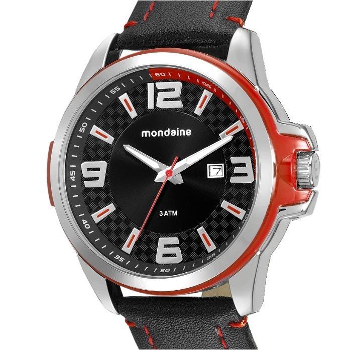 341911b364155 Relógio Mondaine Masculino Pulseira Couro 76636gomvnh2 - R  187,00 ...