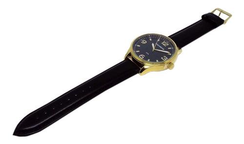 relógio mondaine masculino pulseira couro + cinto social