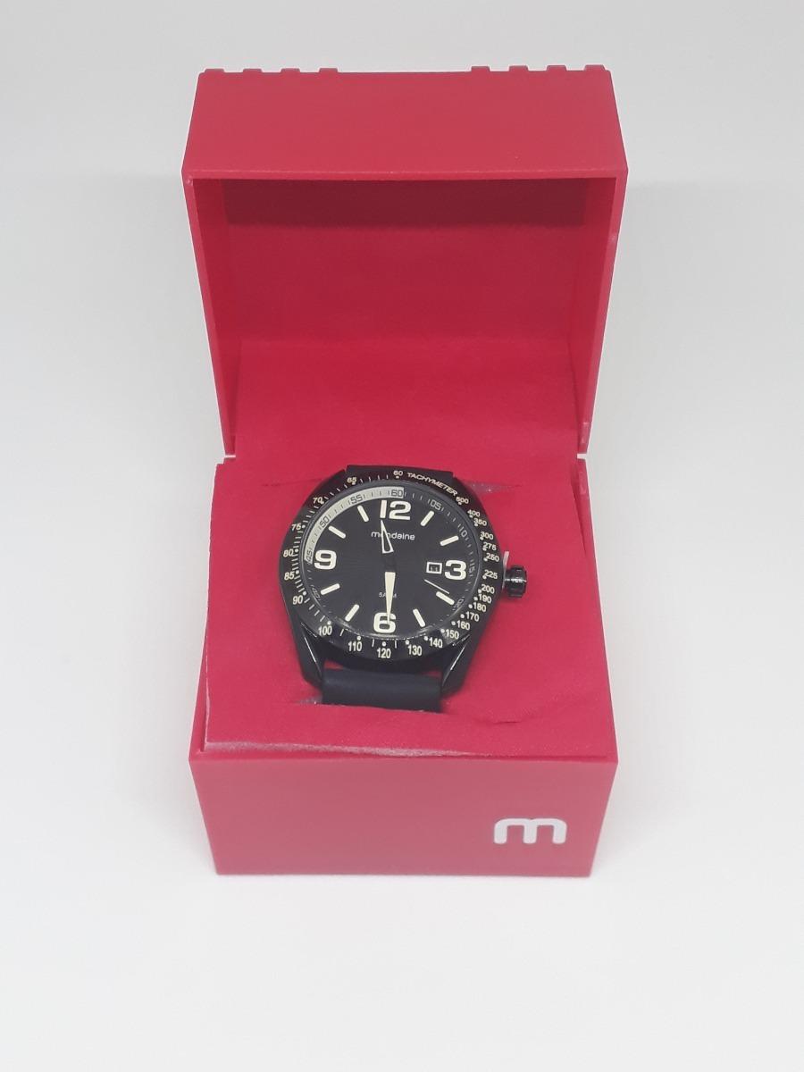 a4c50c7c129 relógio mondaine pulseira de borracha caixa em aço. Carregando zoom.