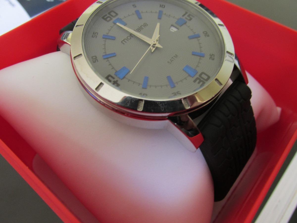 4d596851f60 Relógio Mondaine Pulseira De Borracha