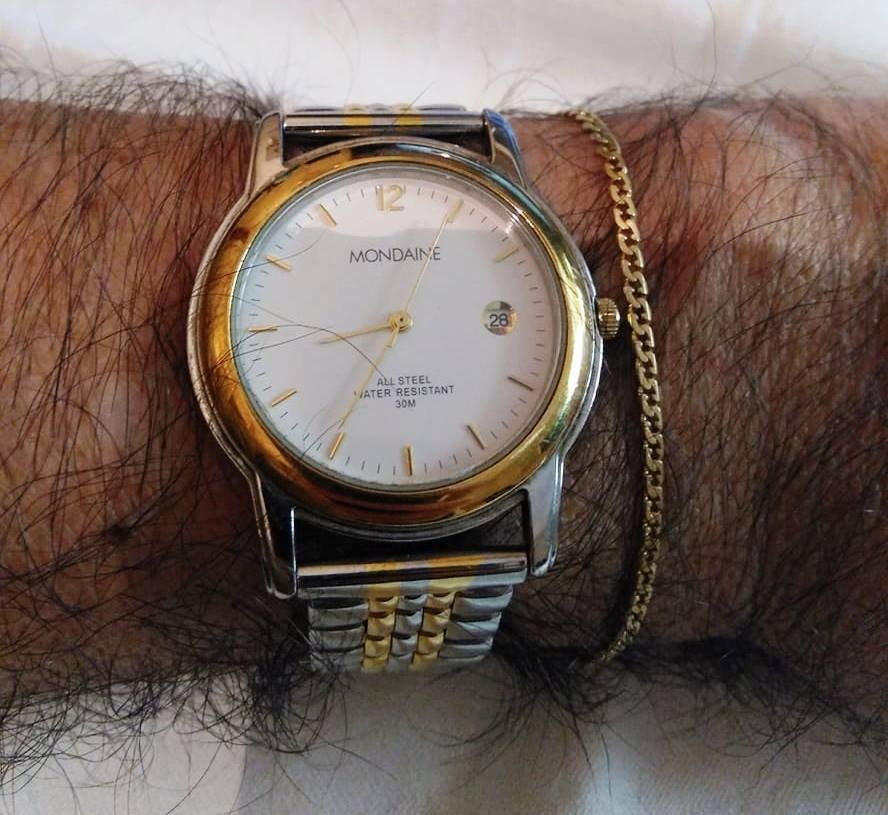 09dd23182c1 Relógio Mondaine Social Masculino ! Muito Elegante ! - R  220