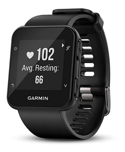 relógio monitor cardiaco garmin gps forerunner 35 preto