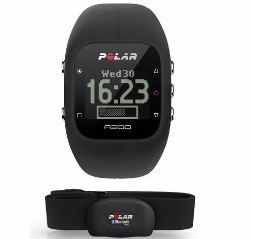 Relógio Monitor Cardiaco Polar A300 Preto Bluetooth Cinta H7 - R ... 366dca1150