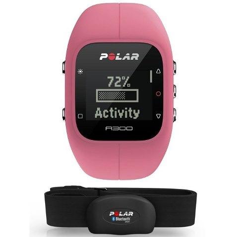 Relogio Monitor Cardiaco Polar A300 Rosa Bluetooth Cinta H7 - R  499 ... 7c8cac4b6e