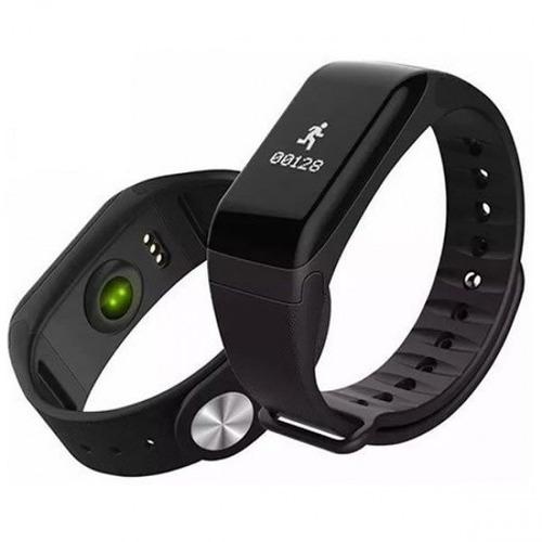 relógio monitor cardíaco smart bracelet  nova digital