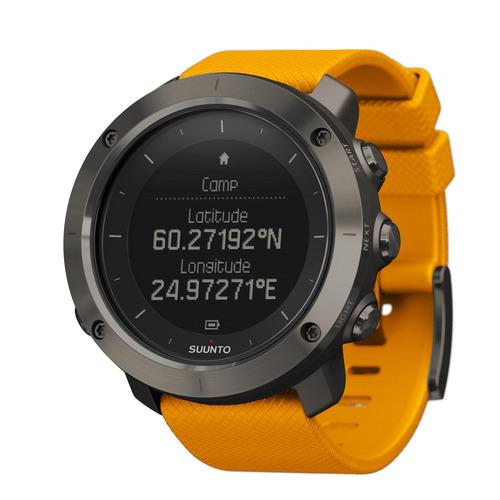 relógio monitor cardíaco suunto traverse amber ss021844000