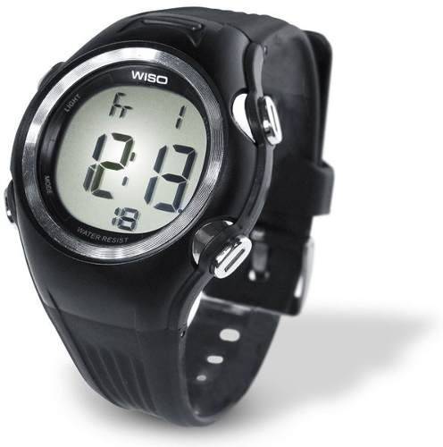 relógio monitor cardíaco wiso fw30 frequencímetro + calorias