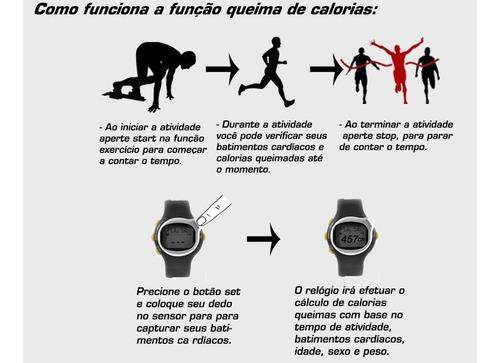 relógio monitor frequênci batim cardíaco exercícios calorias