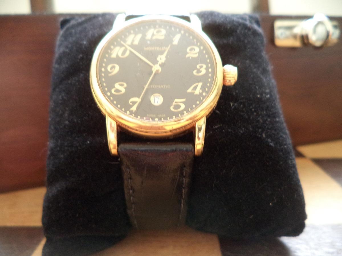 744110c2765 Relógio Mont Blanc Em Ouro 18k