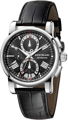 relógio montblanc 102377 star chronograph automatico origina