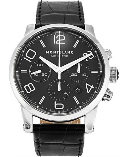 relógio montblanc 9670 timewalker chronograph original