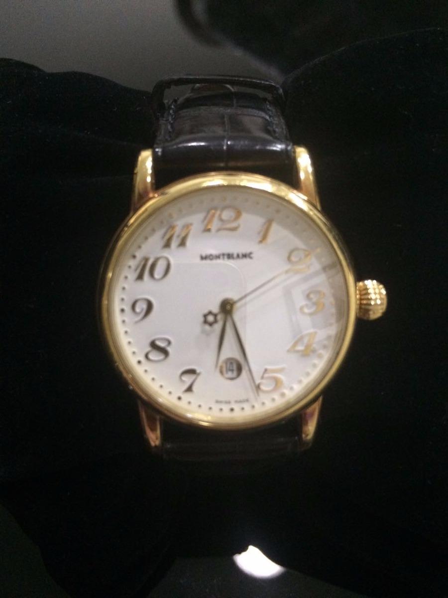 15c586f6d8a relógio montblanc de ouro. Carregando zoom.