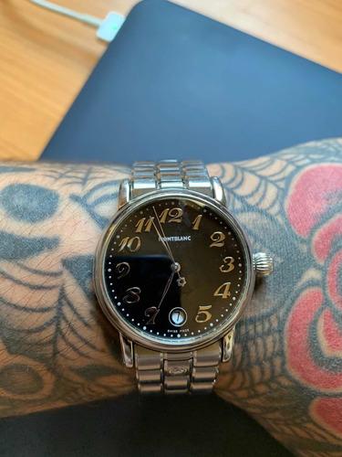 relógio montblanc meisterstück 7027 quartz