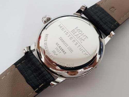 relógio montblanc meisterstuck 7027 swiss made