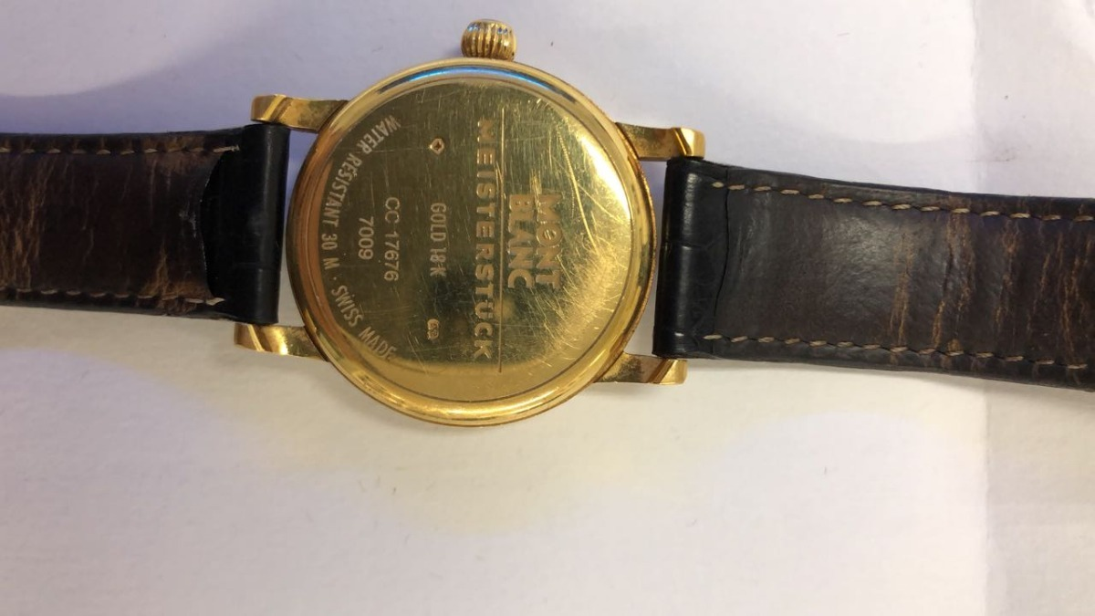 a9771a91020 relogio montblanc ouro 7009. Carregando zoom.