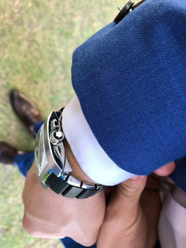 relógio montblanc profile xl chronograph mod. 8487